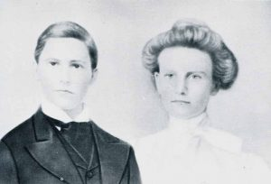 Asa and Gabrilla McCoy wedding photo (1901)