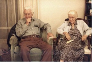 Grandpa Wray & Grandma Margie