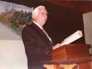 Grandpa Wray preaching