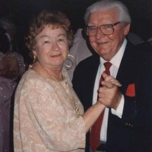 Mom & Dad dancing