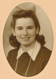 Mom as a teenager